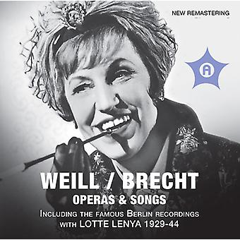 Weill/Brecht - Weill / Brecht: Operas & Songs [CD] USA import