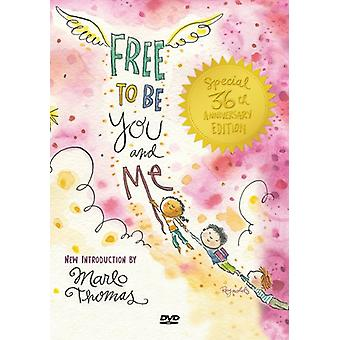 Free to Be You & Me [DVD] USA import