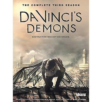 Da Vinci's Demons: säsong 3 [DVD] USA import