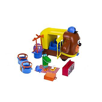 hey duggee adventure bus playset with swing and seesaw accessories for ages 3+