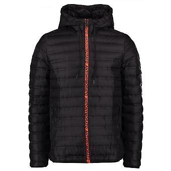 Antony Morato Sport Black Hooded Bubble Jacket