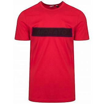 Antony Morato Rött Tryck Logo T-Shirt