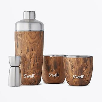 S'well  - Teakwood Barware Set