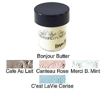 Lindy's Stamp Gang Chateau Rose Embossing Powder