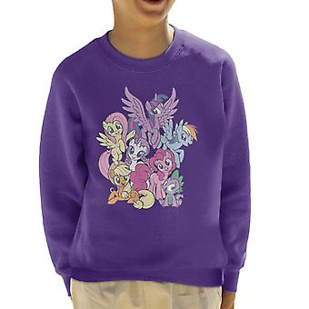 My Little Pony Spike And The Squad Kid's Sweatshirt