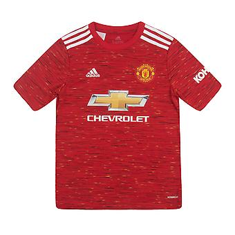 Manchester United FC Home Shirt 2020 / 2021 Boys - OFFICIAL Football Kit