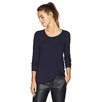 Marque - Daily Ritual Women's Jersey Long-Sleeve Scoop-Neck Swing Shirt...