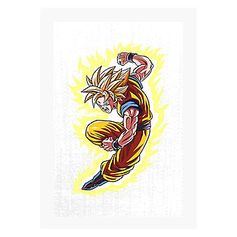 Goku War Dragon Ball Z A4 Imprimer