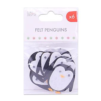 Simply Creative Basics Felt Penguins
