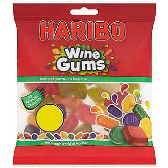 HARIBO Wine Gums 1.92kg, bulk sweets, 12 packs of 160g
