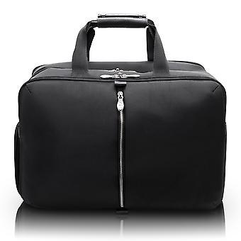 "78905, U Series, Avondale 22"" Nylon, Triple Compartment, Carry-All, Travel, Laptop Duffel - Black"