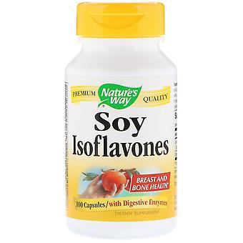 Nature-apos;s Way, Isoflavones de soja, 100 Capsules