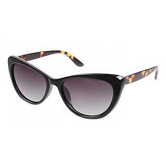 Sonnenbrille Damen  Chic  Kat.3 schwarz/braun (AZ-6450)