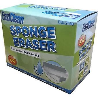 Duzzit Sponge Eraser (Pack of 4)
