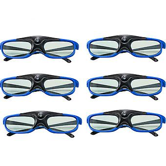 3d Glasses - Active Shutter Rechargeable Eyewear
