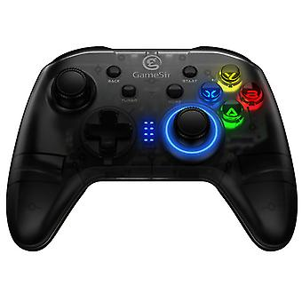 T4 360 ° Led Mcu 2.4g Wireless Bluetooth Gamepad For Pc / Switch / Ps3