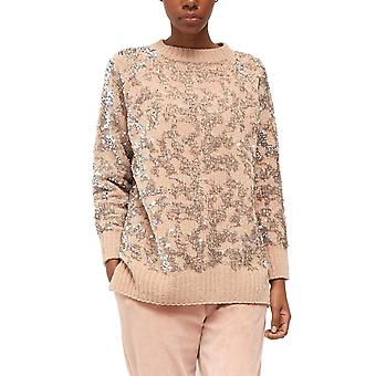 French Connection | Patterned Sequin Crew-Neck Sweater