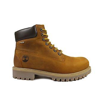 Primigi Jacob 6426500 Brown Nubuck Leather Boys Lace Up Boots