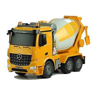 RC auto Mercedes-Benz Arocs 1/20 betoniera per camion in calcestruzzo giallo