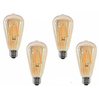 Dimmable Gold Filament Bulb E27 B22 Light 220v/110v Vintage Edison Bulb Lamp
