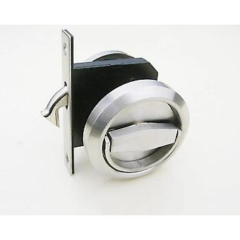 Door Decoration Stainless Steel 304 Door Pocket Lock For Sliding Folding Cabinet Hardware