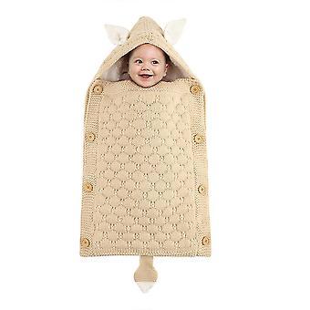 طفل جديد فتاة الطفل - Swaddling حقيبة النوم بطانية