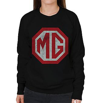 MG Klassisk Logo British Motor Heritage Kvinner's Sweatshirt