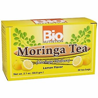 Bio Nutrition Inc Moringa Tea, Lemon 30 Bags