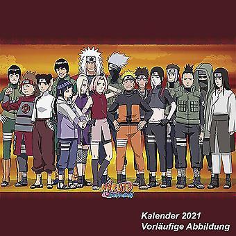 Naruto Calendar 2021 Official Calendar 2021, 12 months, original English version.