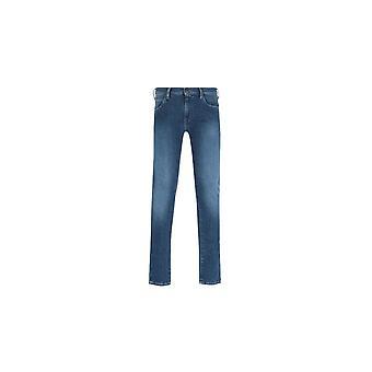 Emporio Armani J10 Slim Fit Blue Denim Jeans