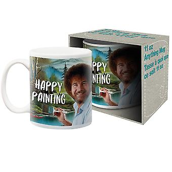 Bob Ross Happy Painting Mug