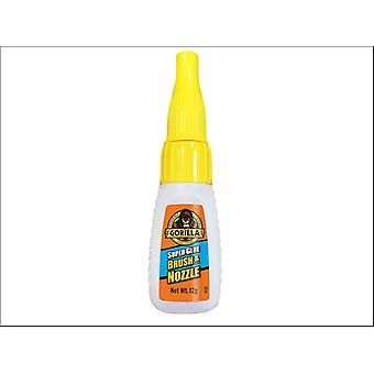 Gorilla Superglue Brush & Nozzle 12g 4044501