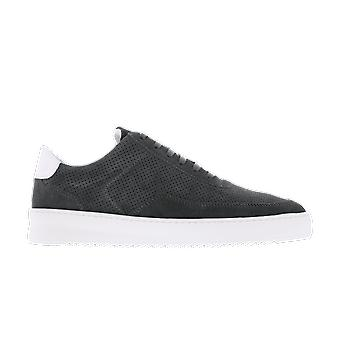 Filling Pieces Mondo Ripple Perforated Grey 2452010 shoe
