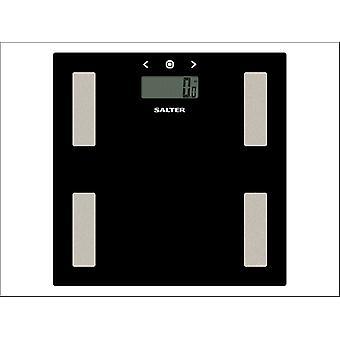 Salter Analyser Bath Scale Black Glass 9150BK3R