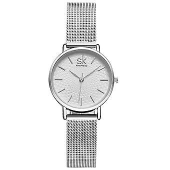 SK K0006 Luxury women Watches Fashion Golden Bracelet Watches Jewelry Quartz