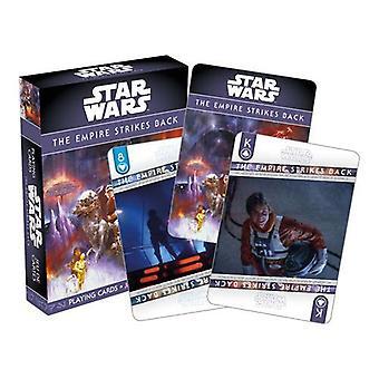 Tähtien sota - ep. 5 imperiumi iskee takaisin pelikortteihin