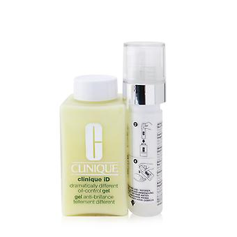 Clinique Id Dramatically Different Oil-control Gel + Active Cartridge Concentrate For Uneven Skin Tone - 125ml/4.2oz