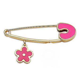 Květina Gold Baby Pin