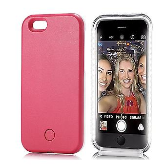 LED Selfie Mobile Phone Case Cover For iPhone
