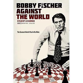 Bobby Fischer contra o mundo filme Poster (11 x 17)