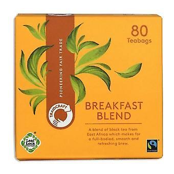 TraidcraFairtrade Breakfast Blend 80's x6
