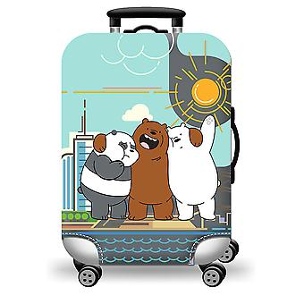 Colorful  Luggage Protector Friendly Bears