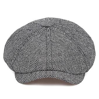 New Fashion Brown Plaid Beret Hip Hop Hats For Autumn/winter