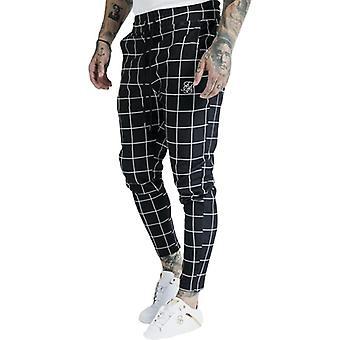 Sik Men's Pants, Fitness Skinny Trousers, Spring, Elastic Bodybuilding Pant,