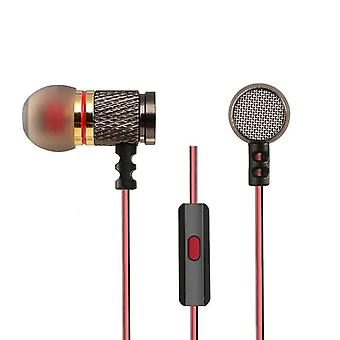 Ear Earphone - High Quality Hifi Sport Earbud Auricular Metal Fever