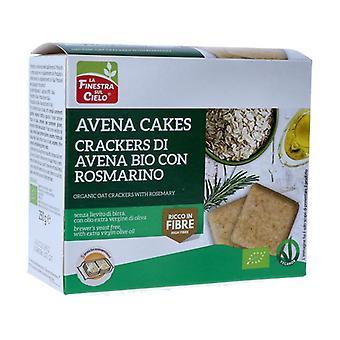 AVENACAKES CRACKERS DI AVENA WITH ROSMARINO 250 g