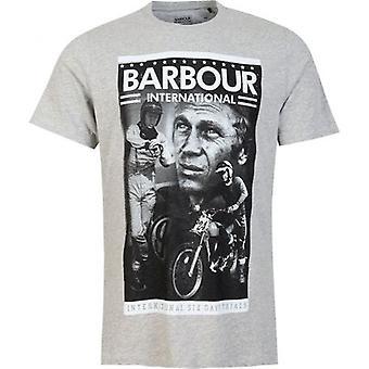 Barbour Steve Mcqueen International Combo Smq T-paita