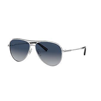 Tiffany TF3062 60014L Silver/Blue Gradient Sunglasses