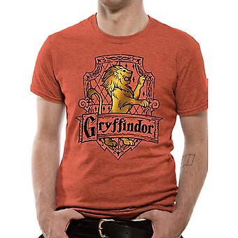 Harry Potter Adulti Unisex Gryffindor Design T-Shirt
