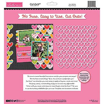 Bella BLVD Besties Heart Attack 12x12 Inch Cut Outs